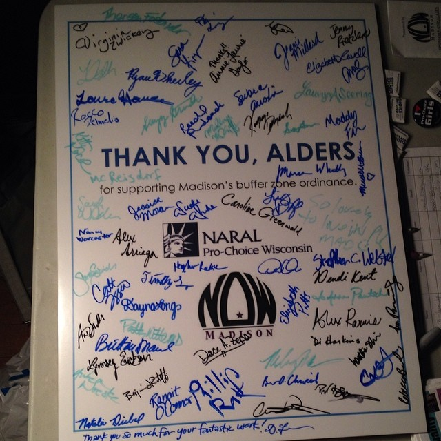 Alder Thank You